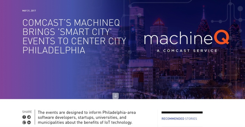 Comcast Smart Cities