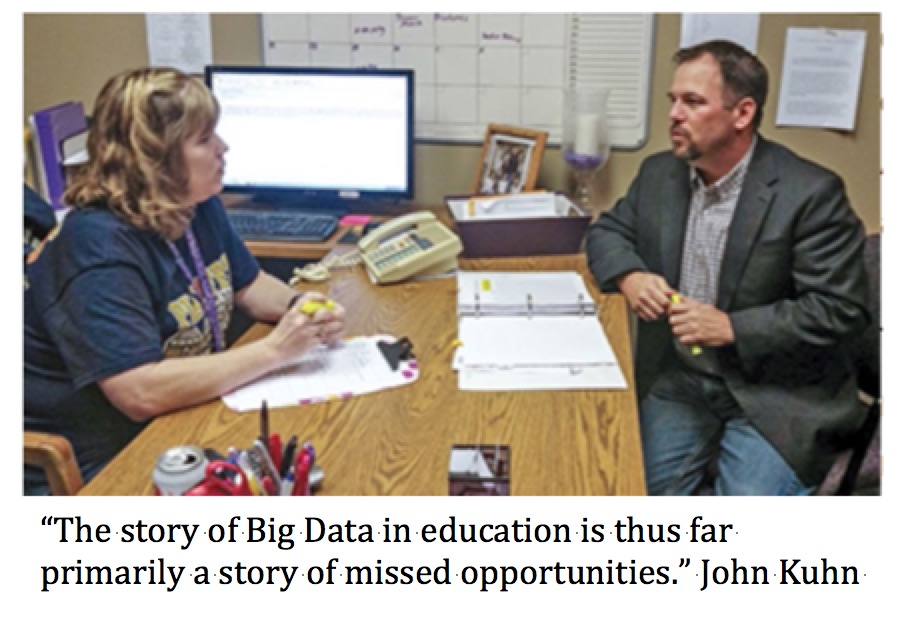Money for what Mr. Kuhn? A Big Data, Future Ready Superintendent Promotes Funding Equity forNPE