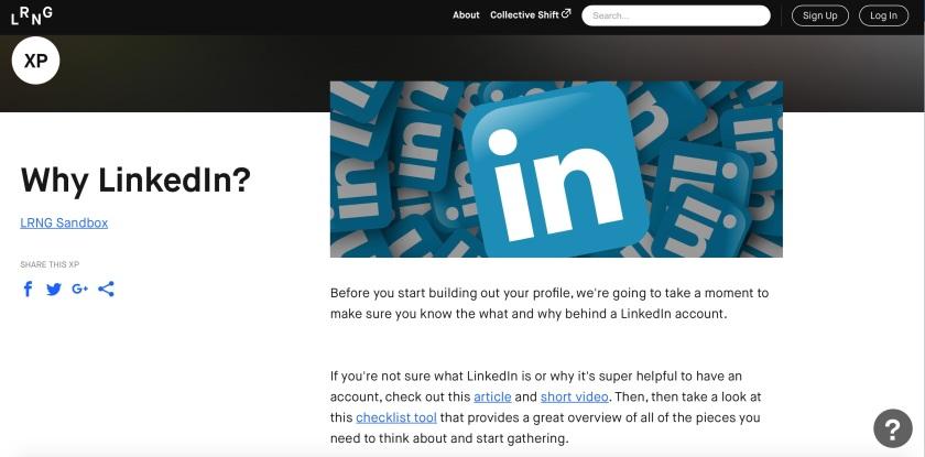 LRNG LinkedIn