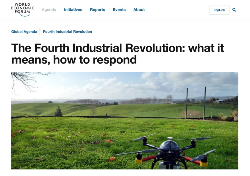 Four Industrial Revolution