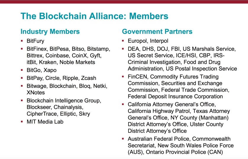 Blockchain Alliance Partners