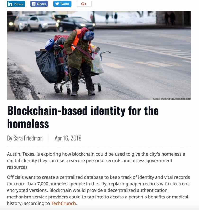 Blockchain Austin App