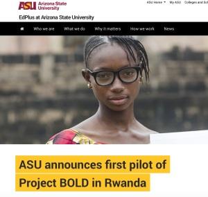 ASU Rwanda