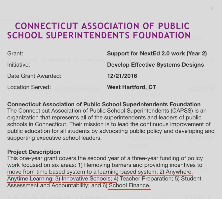 CT Education Policy Changes