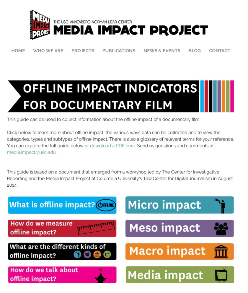 USC Media Impact Project