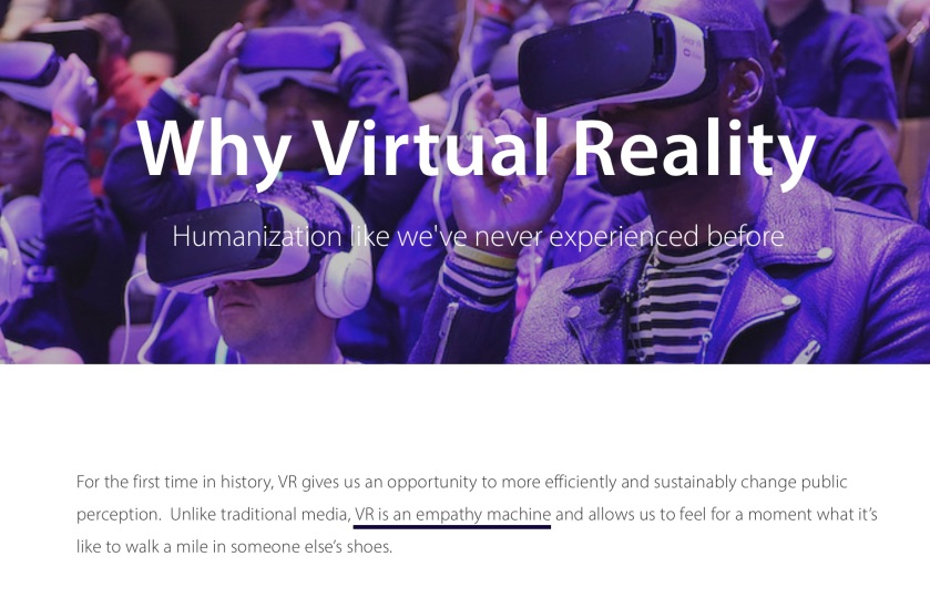 VR Empathy Machine