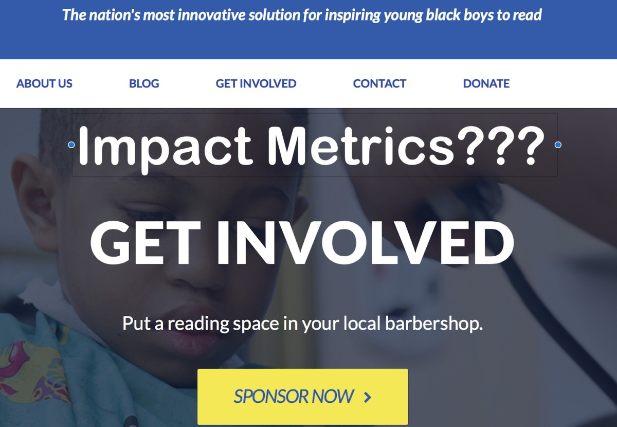 Be on your best behavior! Impact investors target laundromats and barbershops in poor communities.