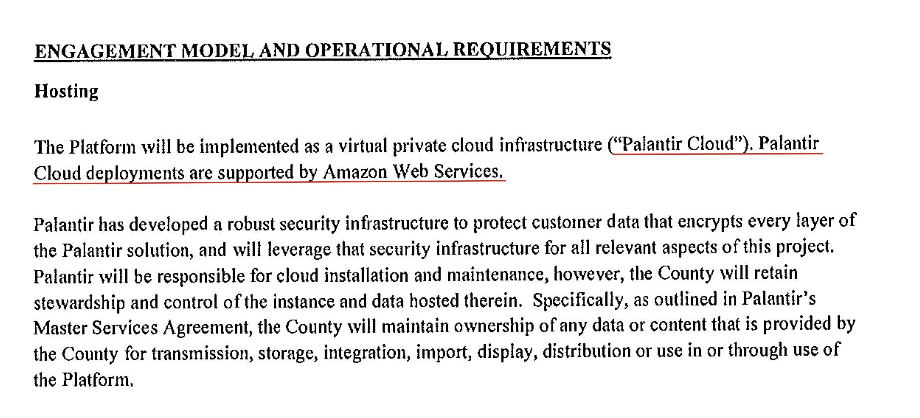 Palantir Cloud AWS – Wrench in the Gears