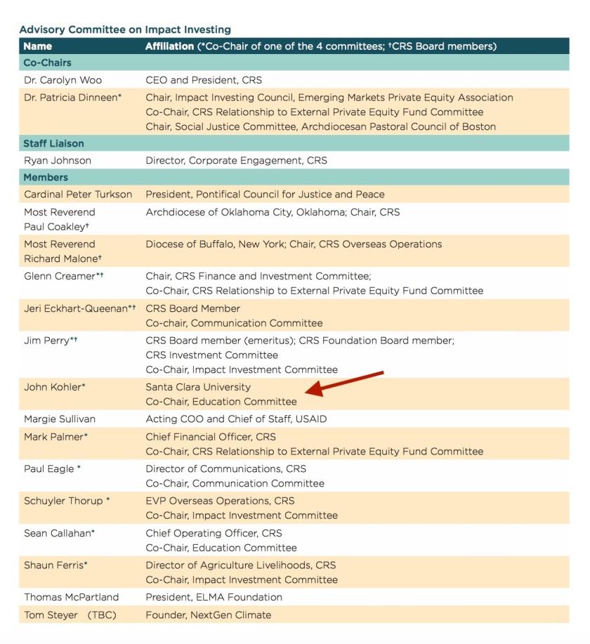 John Kohler CRS Impact Committee.jpg