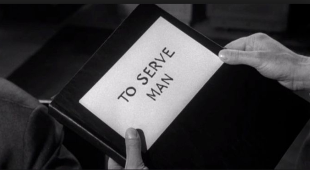 To Serve Man: It's A Cookbook!