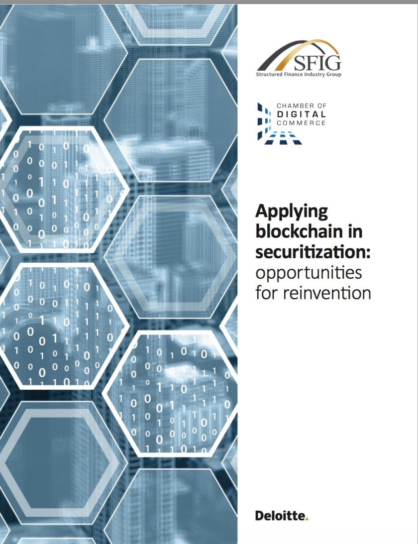 deloitte blockchain securitization