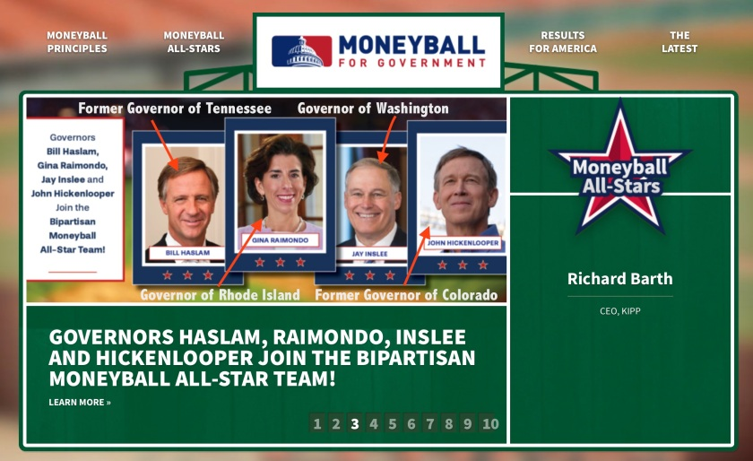 Moneyball for Government Governors