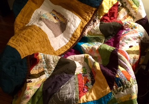 Quilting Resistance: Fabric, Humanity, Serendipity & Cybernetics