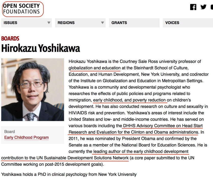Hirokazu Yoshikawa Head Start