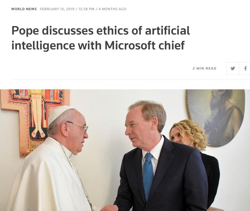 Pope Microsoft