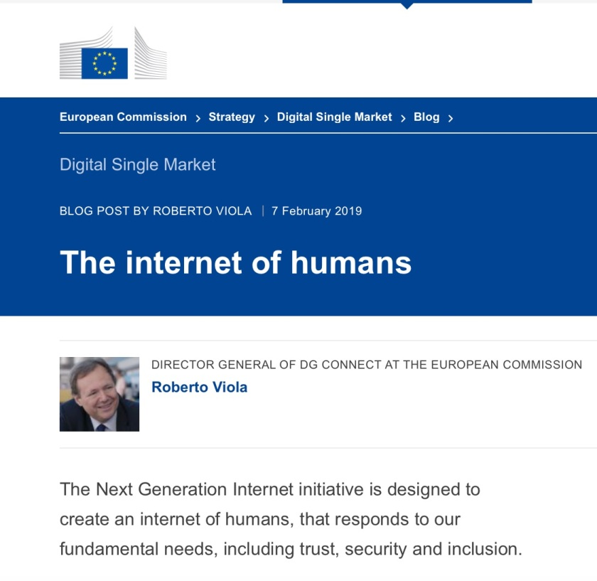 Internet of Humans