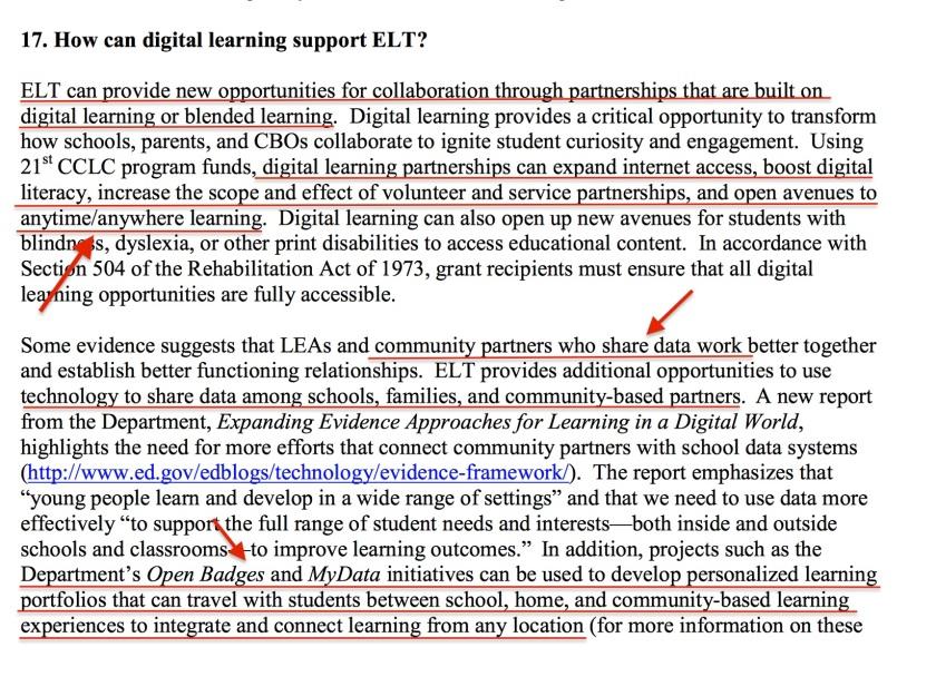 21st Century Community Learning Center Data Sharing