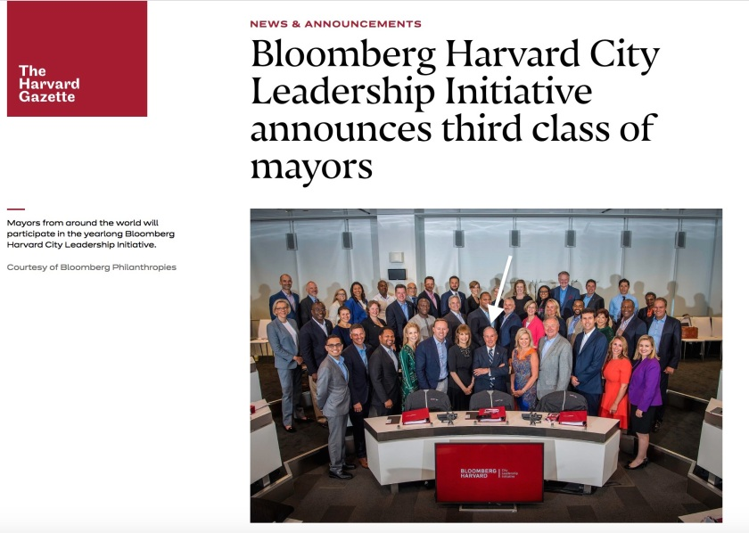 Bloomberg Harvard Mayors Training