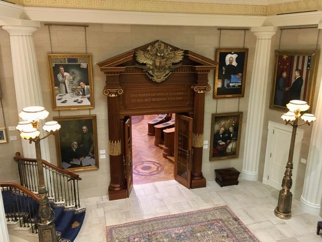 Debate Room Foyer