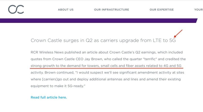 Crown Castle 5G