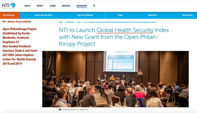 Global Health Security Launch