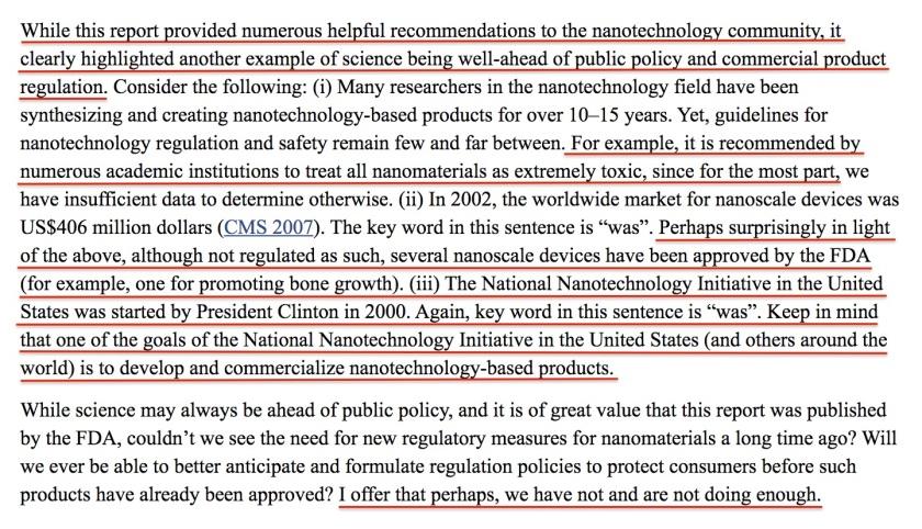 Nano Tech Regulation