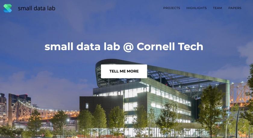 Small Data Lab