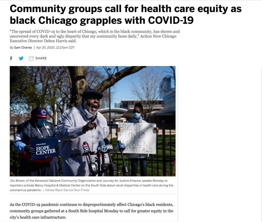 Chicago Health Care