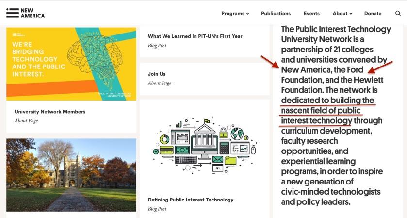 Public Interest Technology University Network